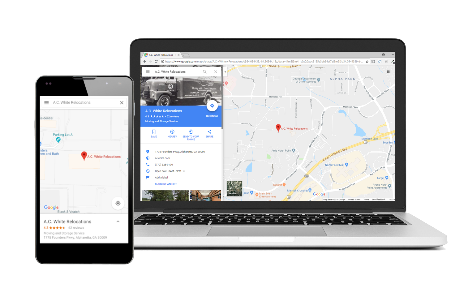 Visibility in Map Listings via Google My Business